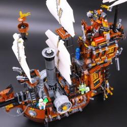 Конструктор KING QUEEN 83002 (бывший Lepin 16002) Пираты Корабль Стальной Бороды, аналог Lego 70810