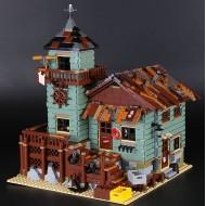 Конструктор KING QUEEN 83028 Старый Рыболовный Магазин, бывший Lepin 16050 | аналог Лего 21310