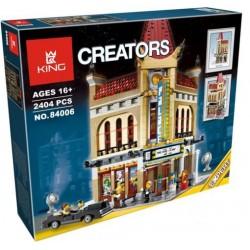 Конструктор 84006 KING&QUEEN Кинотеатр Cinema Palace (бывший Lepin 15006), аналог Lego Creator 10232