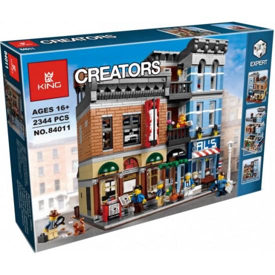 Конструктор 84011 KING&QUEEN Офис детектива / Детективное агентство (бывший Lepin 15011), аналог Lego Creator 10246