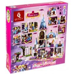 Конструктор 85006 King&Queen Золушка на балу в Королевском Замке (ранее - Lepin 25006), копия Lego 41055 Disney