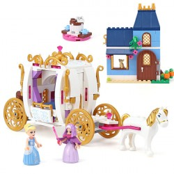 Конструктор 85007 King&Queen Сказочный вечер Золушки (ранее - Lepin 25009), копия Lego 41146 Disney