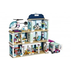Конструктор 86021 KING&QUEEN Клиника Хартлейк Сити (бывший Lepin 01039), аналог Lego Friends 41318