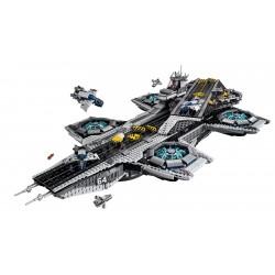 Конструктор KING 87025 Super Heroes, Геликарриер — воздушный перевозчик организации Щ.И.Т., бывший Lepin 07043 / Аналог Lego 76042