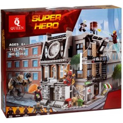 Конструктор 87068 KING&QUEEN: Война бесконечности: Решающий бой в Санктум Санкторум / Super Heroes (бывший Lepin 07107), аналог Lego 76108