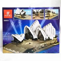 Конструктор 88003 KING&QUEEN Сиднейский Оперный Театр (бывший Lepin 17003), аналог Lego Creator 10234
