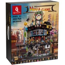Конструктор 89049 KING&QUEEN Ниндзяго Сити (бывший Lepin 06066), аналог Lego 70620 Ninjago