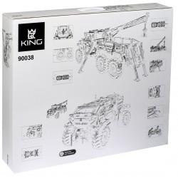 Конструктор 90038 KING&QUEEN Аварийный внедорожник 6х6 (бывший Lepin 20056), аналог Lego Technic 42070