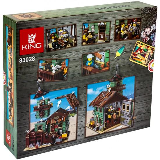 Конструктор KING QUEEN 83028 Старый Рыболовный Магазин, бывший Lepin 16050   аналог Лего 21310