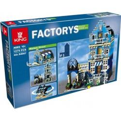 Конструктор King 84007 Торговая улица (бывший Lepin 15007) / Аналог Lego 10190