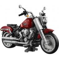 Конструктор Jack 91025 Мотоцикл Harley-Davidson (Харлей-Дэвидсон) Fat Boy, серия Creator Expert