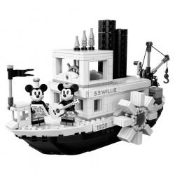 Конструктор Lepin 16062 I 3025 Пароходик Вилли — Юбилей Микки Мауса / аналог Lego 21317