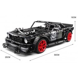 Конструктор Jack 90068 Ford Mustang Hoonigan RTR  I аналог Lego MOC-22970