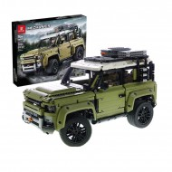 Конструктор King 93018, Land Rover Defender, Technic I аналог Lego 42110