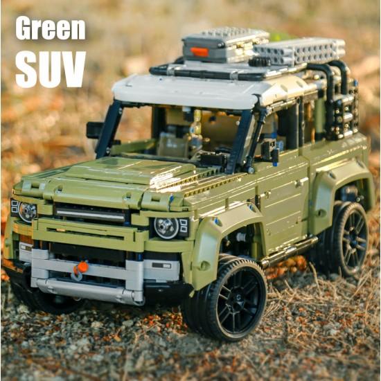 Конструктор King 93018, Land Rover Defender, Technic I аналог Lego 42110