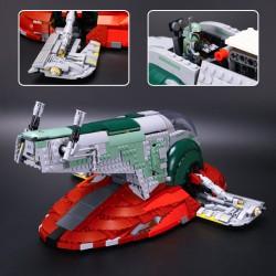 Конструктор 180010 Lion King Slave I — Звездолет Бобы Фетта (ранее - Lepin 05037) / копия Lego 75060 Star Wars