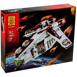 Конструктор Lion King 180012 Республиканский Истребитель, бывший Lepin 05041 / аналог Lego 75021 Star Wars