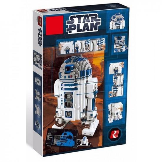 Конструктор King 81045 Робот R2-D2 Collector's (ранее - Lepin 05043) - аналог Lego 10225 Star Wars