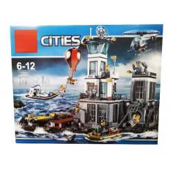 Конструктор 180026 Lion King Остров-тюрьма (бывший Lepin 02006), аналог Lego 60130