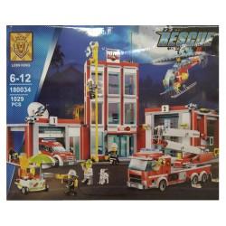Конструктор Lion King 180034 Пожарная часть, бывший Lepin 02052 / копия Lego 60110 City
