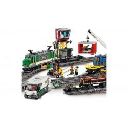 Конструктор Lion King 180039, Товарный поезд, бывший Lepin 02118 / Аналог Lego 60198