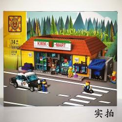 Конструктор Lion King 180043, Магазин На скорую руку The Simpson, бывший Lepin 16004   аналог Lego 71016