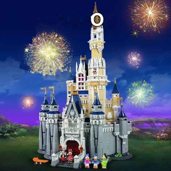 Конструктор Lion King 180046 Сказочный Замок Дисней — Castle Disney, бывший Lepin 16008, Аналог Lego 71040