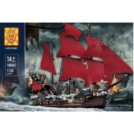 Конструктор 180047 LION KING Месть королевы Анны (бывший Lepin 16009), аналог Lego 4195 QUEEN ANNE'S REVENGE