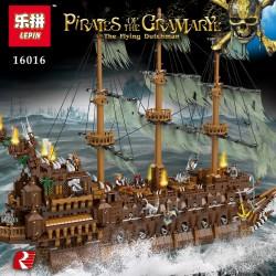 Конструктор Lion King 180049, Летучий Голландец Pirates of the Caribbeans, бывший Lepin 16016 / Аналог Lego MOC 9224
