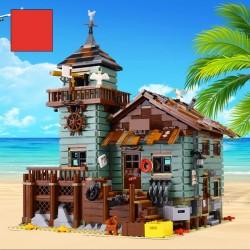 Конструктор Lion King 180050 Старый Рыболовный Магазин, бывший Lepin 16050 | аналог Лего 21310