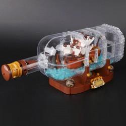 Конструктор Lion King 180051 Корабль в бутылке, бывший Lepin 16051 | аналог Lego Ideas (Айдиас) 21313