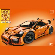 Конструктор Lion King 180094, Porsche 911 GT3 RS (Оранжевый) / ранее - Lepin 20001, аналог Lego 42056 Technics