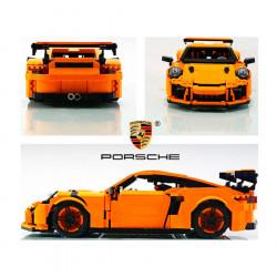 Конструктор Porsche GT3 RS 13129 (Оранжевый) / аналог 20001, 42056 Technics