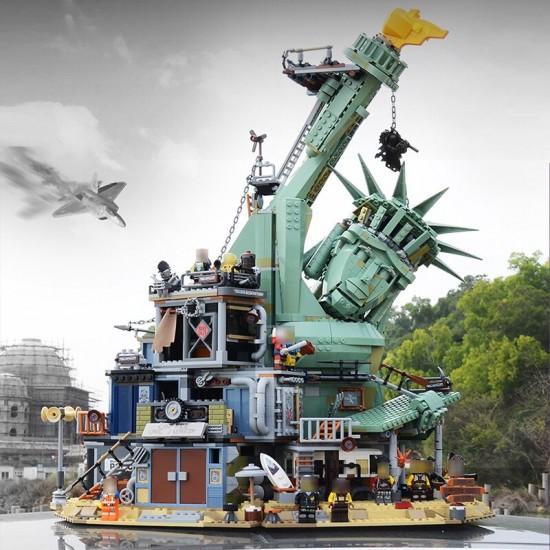 Конструктор Lion King 180144 Добро пожаловать в Апокалипсебург (бывший Lepin 45014), Аналог Lego 70840
