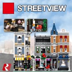 Конструктор Lion King 180159 Городская Площадь, бывший Lepin 15019 / Аналог Lego 10255