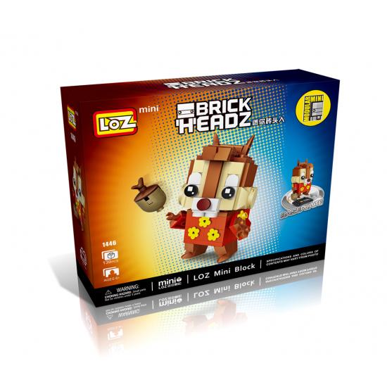 "Конструктор LOZ 1446 BrickHeadz ""Дейл"""