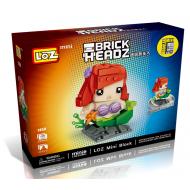 """Конструктор LOZ 1450 - BrickHeadz """"Русалочка"""""""