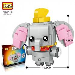 """Конструктор LOZ 1452 - BrickHeadz """"Дамбо"""""""