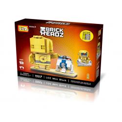 """Конструктор LOZ 1501 - BrickHeadz Star Wars """"Дроиды C-3PO & R2-D2"""""""