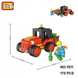 """Конструктор LOZ 1511 - Mini Block Junior City """"Грузоподъемник"""""""
