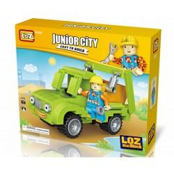 "Конструктор LOZ 1513, Mini Block Junior City ""Самосвал"""