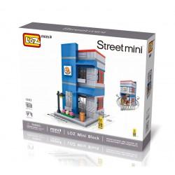 """Конструктор LOZ 1602 - Street Mini """"Burger king"""""""