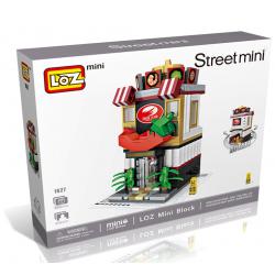 """Конструктор LOZ 1627 - Street Mini """"Ресторан"""""""