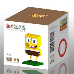 "Конструктор LOZ 9147 - Diamond Block iBlock Fun ""Губка Боб"""
