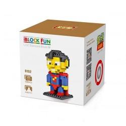 """Конструктор LOZ 9152 Diamond Block iBlock Fun """"Супермен"""""""