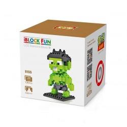 """Конструктор LOZ 9155 Diamond Block iBlock Fun """"Халк"""""""