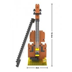 """Конструктор LOZ 9196 Diamond Block iBlock Fun """"Виолончель"""""""
