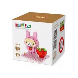 "Конструктор LOZ 9435 Diamond Block iBlock Fun ""Розовый кролик"""