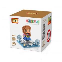 """Конструктор LOZ 9498 Diamond Block iBlock Fun """"Принцесса Анна"""""""