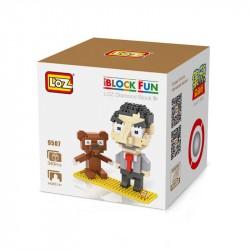 "Конструктор LOZ 9507 Diamond Block iBlock Fun ""Мистер Бин"""